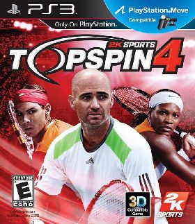 PS3 - Top spin 4