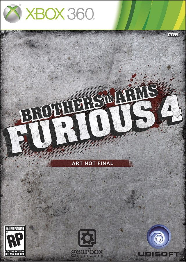 XBOX 360 -  Brothers in Arms Furious 4
