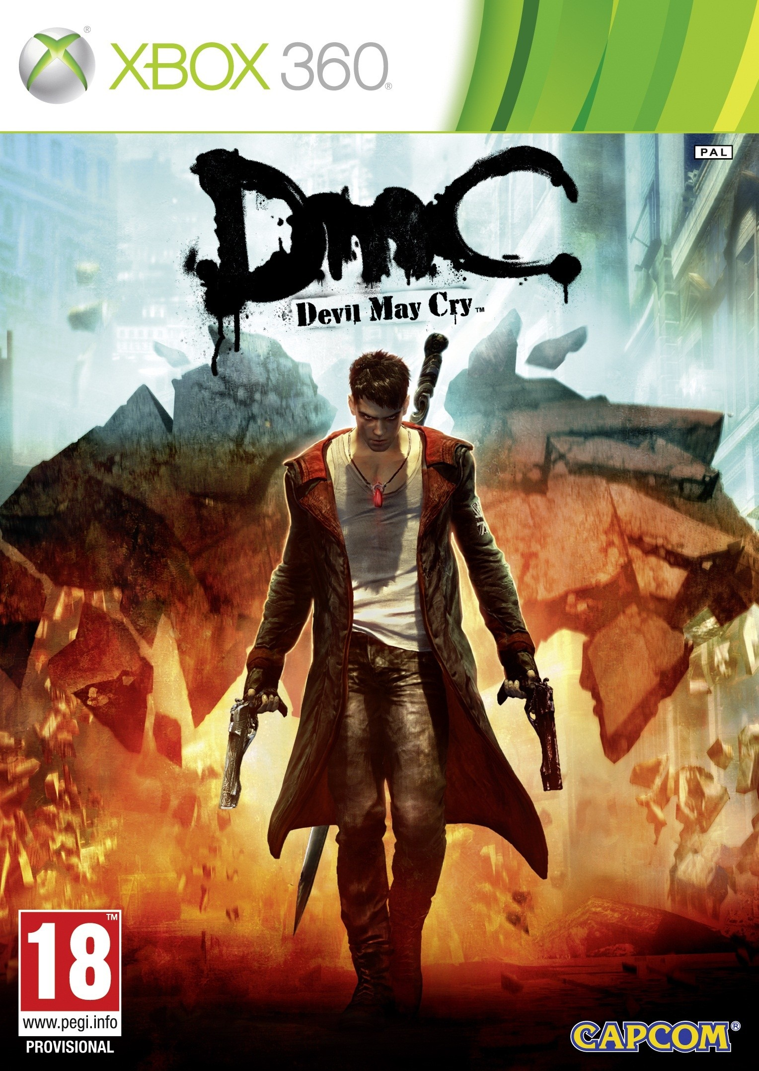 XBOX 360 - DmC: Devil May Cry