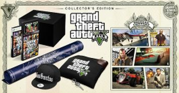 XBOX 360 - GTA V Collectors edition