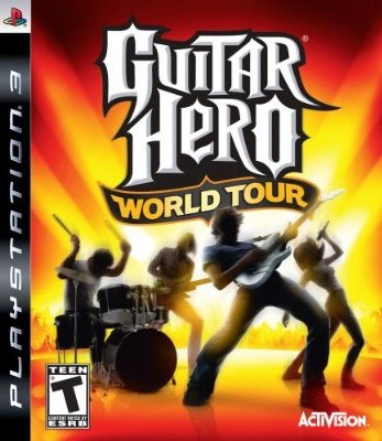 PS3 - Guitar Hero World Tour