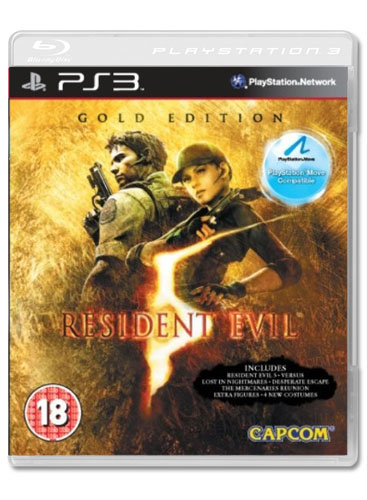 PS3 - Resident Evil 5 move edition