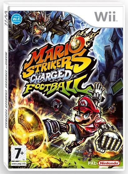 WII -  Mario Strikers Charged Football PAL