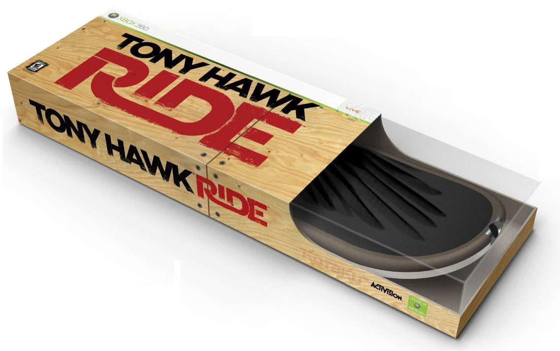 WII - Tony Hawk Ride