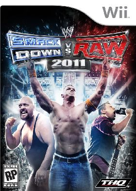 WII - WWE SmackDown vs. Raw 2011