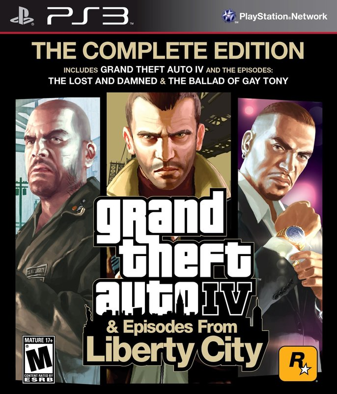 PS3 - GTA IV The Complete Edition
