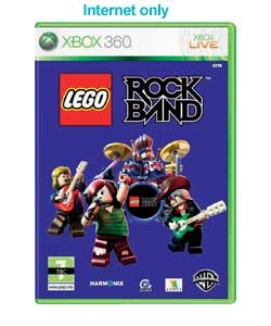 XBOX 360 - Lego Rock Band