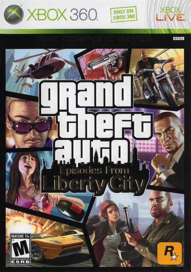 XBOX 360 - GTA Episodes of Liberty