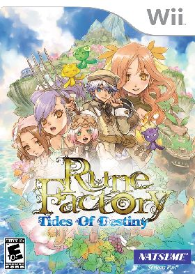 WII-Rune Factory: Tides of Destiny