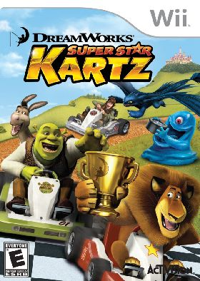 WII-DreamWorks Super Star Kartz