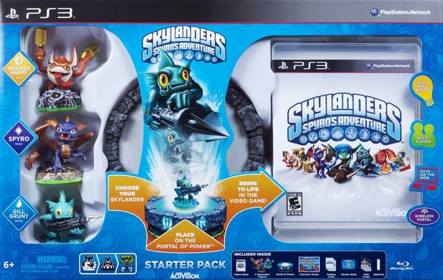 PS3 - Skylanders Spyro's Adventure