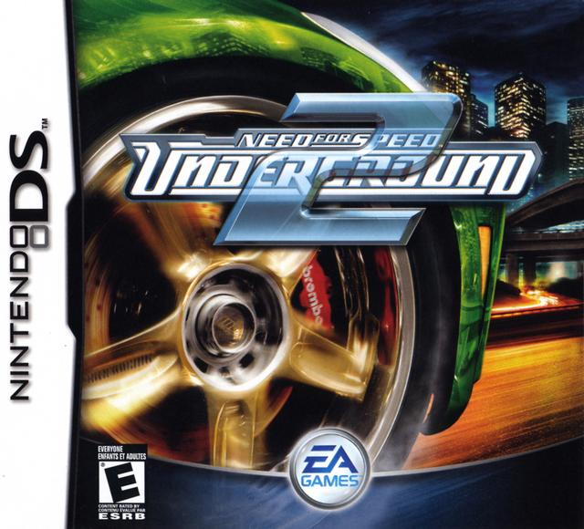 DS - Need for Speed Underground 2