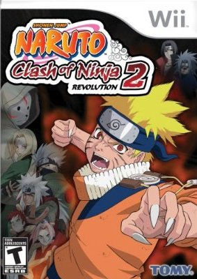 WII - Naruto Clash of Ninja Revolution 2