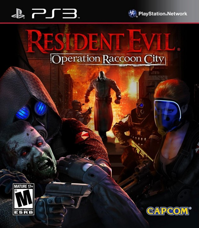 PS3 - Resident Evil Operation Raccoon City