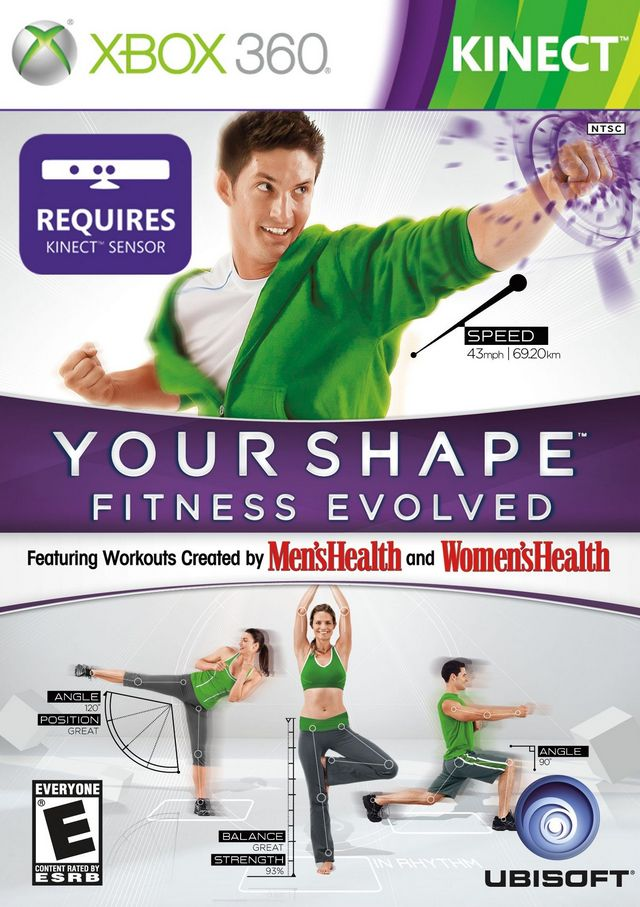 XBOX 360 - Your Shape: Fitness Evolved