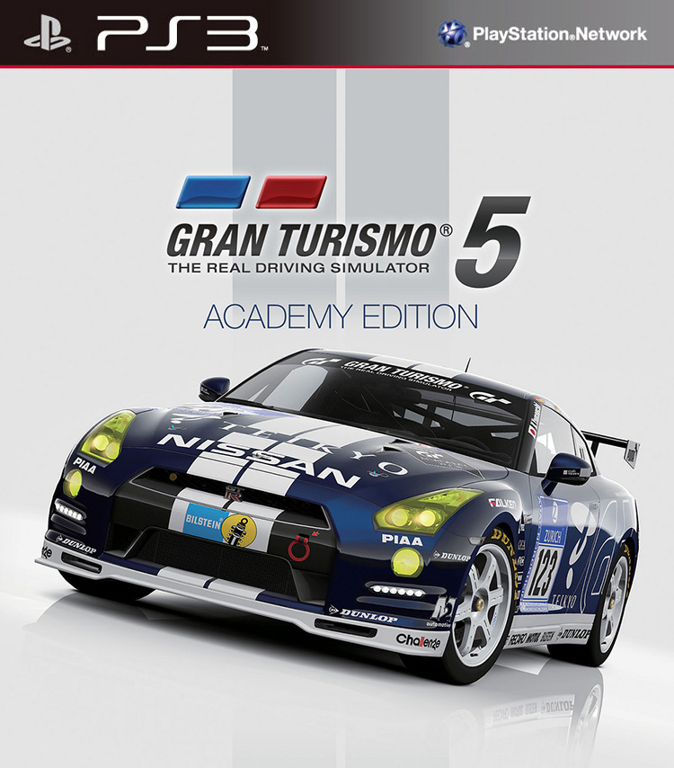 PS3 - Gran Turismo 5 Academy Edition