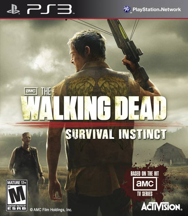PS3 - The Walking Dead Survival Instinct