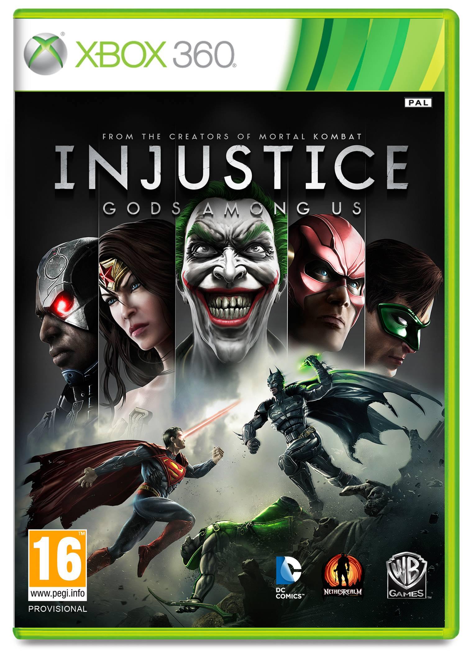 XBOX 360 - Injustice Gods Among Us