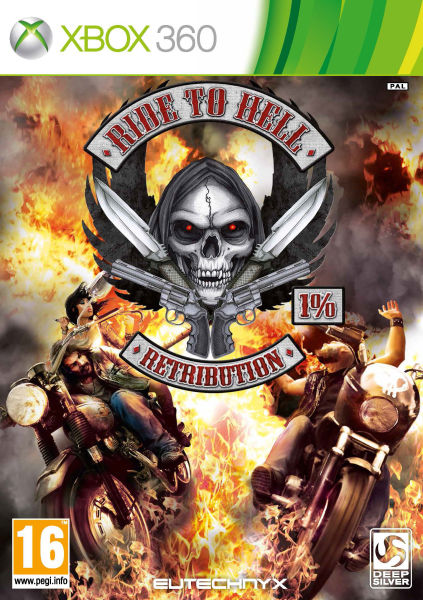 XBOX 360 - ride to hell retribution