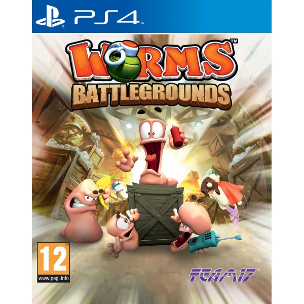 PS4 - WORMS BATTLEGROUND