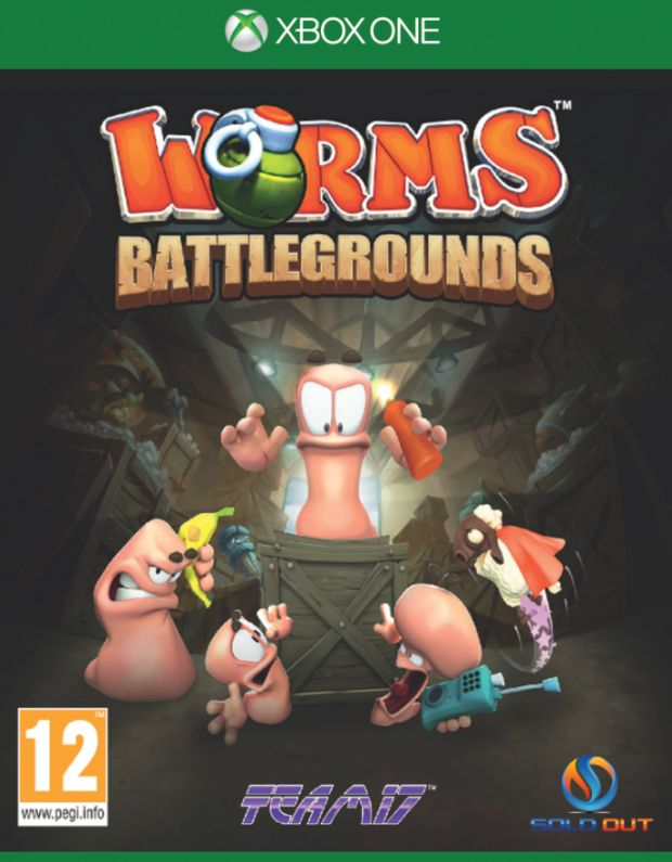 XBOX ONE - WORMS BATTLEGROUNDS