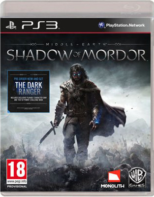 PS3 - Middle earth Shadow of Mordor The dark ranger