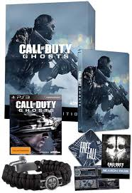 PS3 - CALL OF DUTY GHOSTS hardened edition