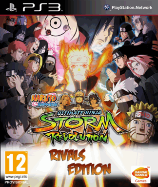 PS3 - Naruto Storm Revolution