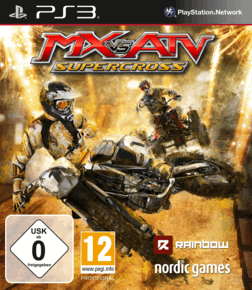 PS3 - MX VS ATV SUPERCROSS