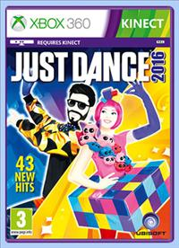 XBOX 360 - JUST DANCE 2016