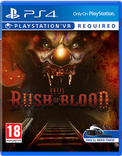 PS4 VR - Until Dawn Rush of Blood