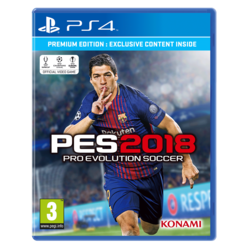 PS4 - Pro Evolution Soccer 2018