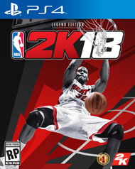 PS4 - NBA 2K18 Legend Edition