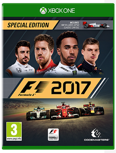XBOX ONE - F1 2017 Special Edition