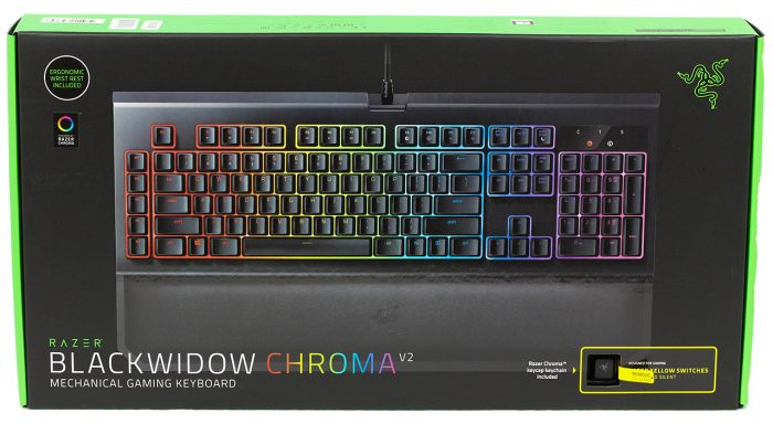 Razer - BlackWidow Chroma V2 (Yellow Switch)
