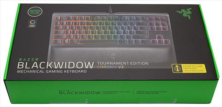 Razer - BlackWidow Tournament Chroma V2 (Yellow Switch)