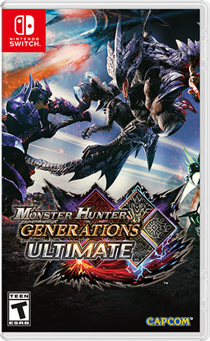 Nintendo Switch - Monster Hunter Generations Ultimate