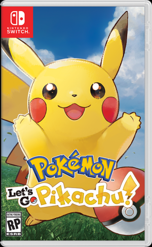 Nintendo Switch - Pokémon: Let's Go, Pikachu!