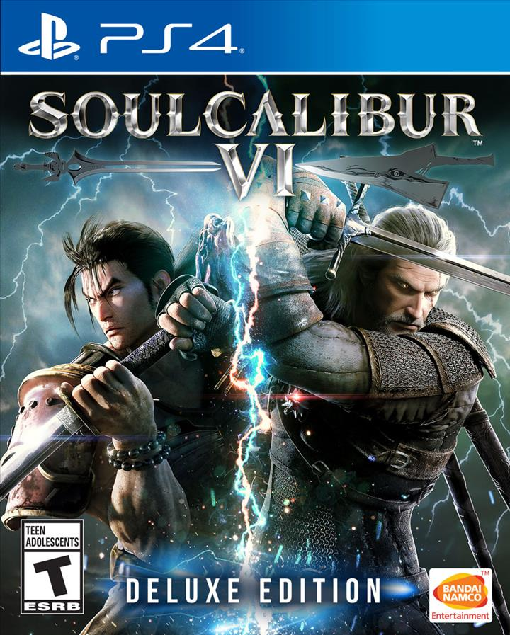 PS4 - SoulCalibur VI Deluxe Edition