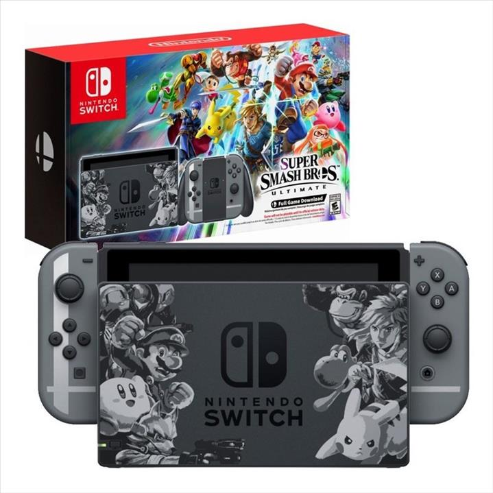 Nintendo Switch Console Super Smash Bros Ultimate Limited Edition